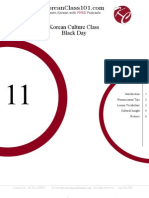 Korean Culture Class Lesson 11