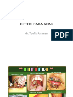 Mengenal penyakit difterii