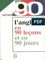 L Anglais 90 Lecons