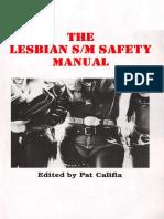 The Lesbian SM Safety Manual - Pat Califia.pdf