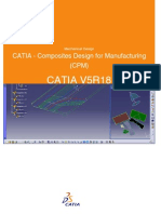 CATIA - Composites Design for Manufacturing (CPM)