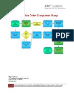 SAP Component Scrap
