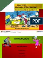 Integracion de abuelos y familia. Coordinacion de Desarrollo Humano..pptx
