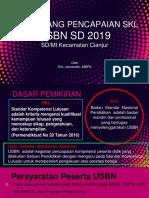 Materi Sosialisasi Usbn 2019