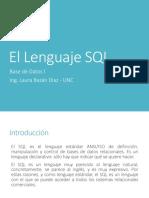 09 Base de Datos I-Lenguaje SQL
