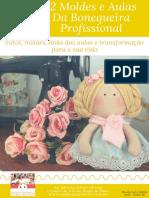 E-book 12 Moldes e Aulas Da Bonequeira Profissional-bonecas Da Drica Adriana Schutz