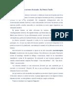 Historia y Narración en textos ficcionales by Patricia Tarallo