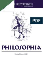Studia Philosophia UBB Special Issue