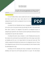 damarion bildon - 001 tda writing prompt