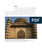 acoustics of gol gumbaz