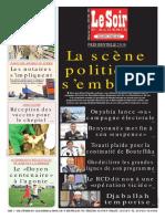 Journal Le Soir Dalgerie 02.02.2019