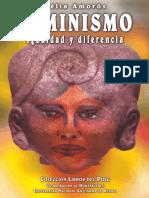 Celia Amoros - Feminismo. Igualdad y Diferencia