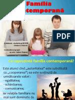 Familia Contemporană