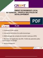 Profil Des Pôles de Développement