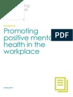 Promoting Mental Health Nov
