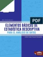 ELEMENTOS BÁSICOS DE  ESTADÍSTICA DESCRIPTIVA