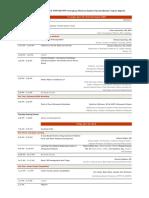 2019 network retreat program schedule - 2019-2-4