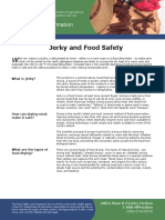 Jerky and Food Safety