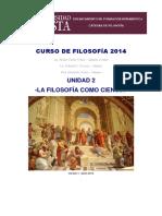 Curso de Filosofía 2014 u2 La Filosofía Como Ciencia