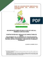 Bases Integradas Supervision Obra Aisa