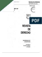 202, 1997. Democracia Integral en Funcion de Los Derechos Humanos - Sanhueza Cruz, Manuel