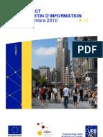 URBACT Bulletin d'Information - Septembre - FR