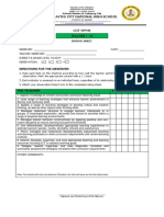 Cot-rpms - t I-III - Rating Sheet