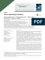 Tissue Engineering in Dentistry