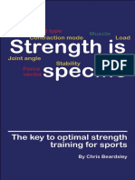 Chris Beardsley - Strength is Specific