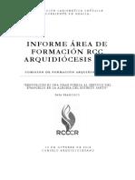 INFORME ÁREA DE FORMACIÓN RCC ARQUI SJ 14102018