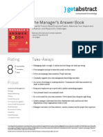 The Managers Answer Book Mitchell en 34131