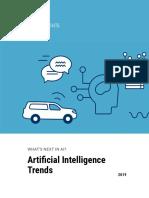 CB Insights AI Trends 2019