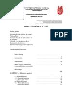Estructura General de Tesis