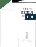 archivo de huellas digitales