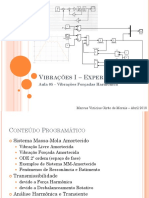 Aula 5P - Vibracoes Forçadas Harmonica - V01_18