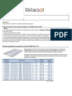 Kits Estructuras Power Rail 2017