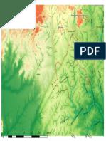 Mapa Serra Das Araras 1