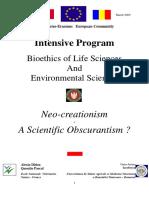 Neo-creationism - Conference - BioEthics
