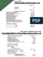 Fiat Duna - Spacio Diesel 1300