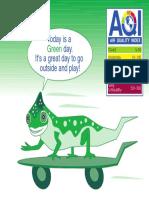 Green AQI indicator
