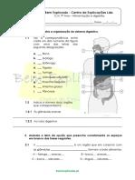 3.3 - Ficha de Trabalho - Alimentação e Digestão (1)