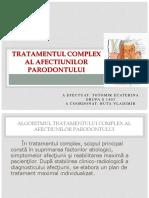 tratamentul afectiunilor parodontului