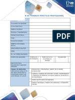 Anexo 1 Formato Plan de Trabajo