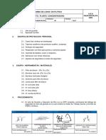 PETS-SGK-PC-018 Cambio de Lonas en Filtros