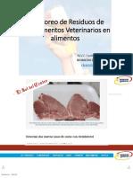 2. Residuos Veterinarios - Pruebas Rápidas de Micotóxinas