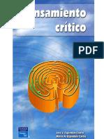 PENSAMIENTO CRÍTICO. Marco Antonio Espíndola Castro José Luis Espíndola Castro