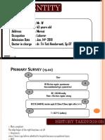 14-01-2019, Mr. W- 43 YO- traumatic amputatum- dr. tri tuty H, Sp.OT.pptx