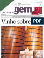 Suplemento Viagem - Estado de S.Paulo - Vinho sobre tela 20100907
