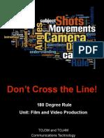tgv4m film unit 180 degree rule and master scene shooting technique lesson