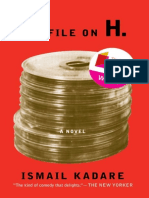 The File on H_ - Ismail Kadare